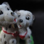 Spotted Dogs Figurine by Curtis Sittenfeld