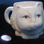 Cat Mug by Thomas McNeely