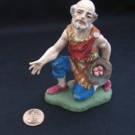 Kneeling Man Figurine by Glen David Gold
