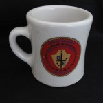 Marines (Upside-Down) Logo Mug by Tom Vanderbilt