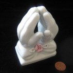 Praying hands by Rosecrans Baldwin
