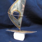 Windsurfing Trophy/Statue by Naomi Novik