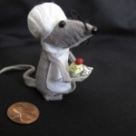 Felt Mouse by Meghan O&#39;Rourke