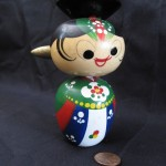 Geisha Bobblehead by Edward Champion