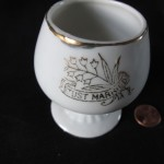 Just Married Cup by Barbara Bogaev