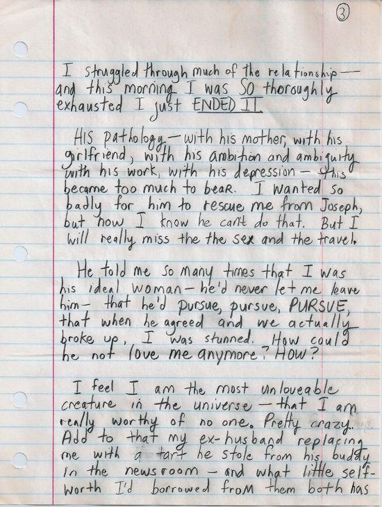 Dear Susan, page three