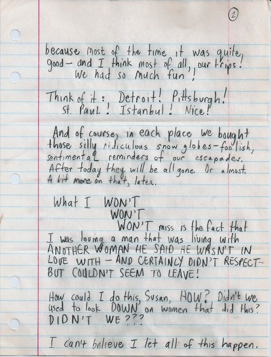 Dear Susan, page two