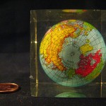Globe Paperweight by Debbie Millman