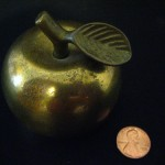 Brass Apple by Miranda Mellis