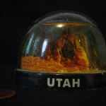 Utah Snow Globe by Blake Butler