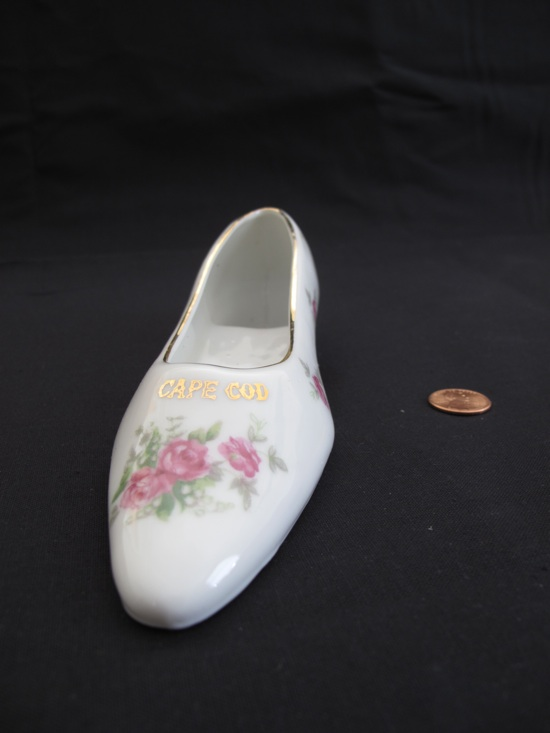 Cape Cod porcelain shoe