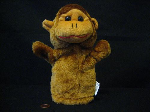dara horn monkey puppet