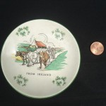 Ireland Cow Plate by Sarah Rainone