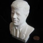 JFK Bust by Annie Nocenti
