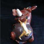 """Hakuna Matata"" figurine by Jennifer Michael Hecht"