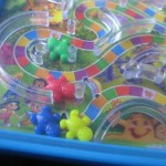 Candyland labyrinth game by Matthew Battles