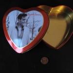 Elvis Chocolate Tin by Jessica Helfand