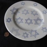 Star of David Plate by Adam Harrison Levy