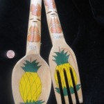 Hawaiian Utensils by Stephen Elliott