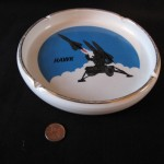 """Hawk"" Ashtray by William Gibson"