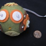 Pincushion Owl by Margaret Wertheim