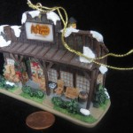 Cracker Barrel Ornament by Maud Newton