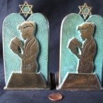 Bar Mitzvah Bookends by Stacey Levine
