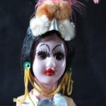 Painted Lady Figure by Shelagh Power-Chopra