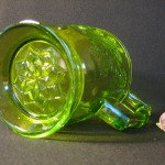 Green Bird Glass by Ed Skoog