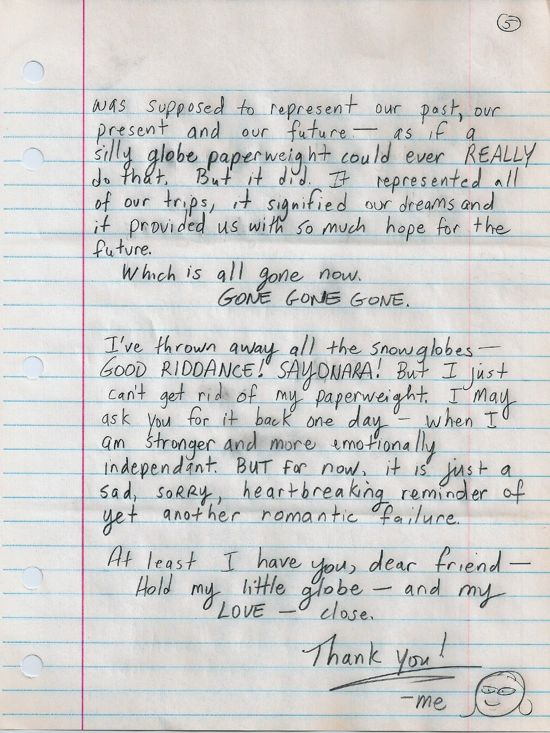 Dear Susan, page five