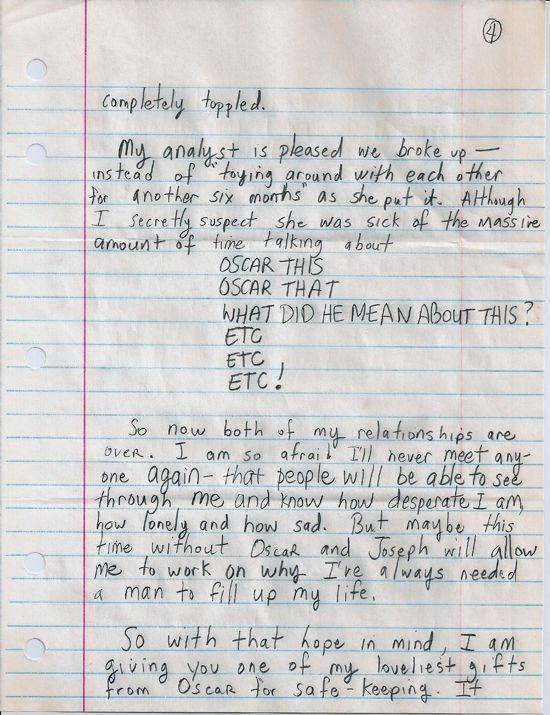 Dear Susan, page four