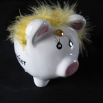 Fancy Piggy Bank by Martha McPhee