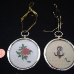 Needlepoint Ornaments by Jennifer Weiner