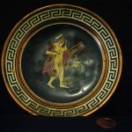Greek Ashtray-Plate by Kathryn Kuitenbrouwer