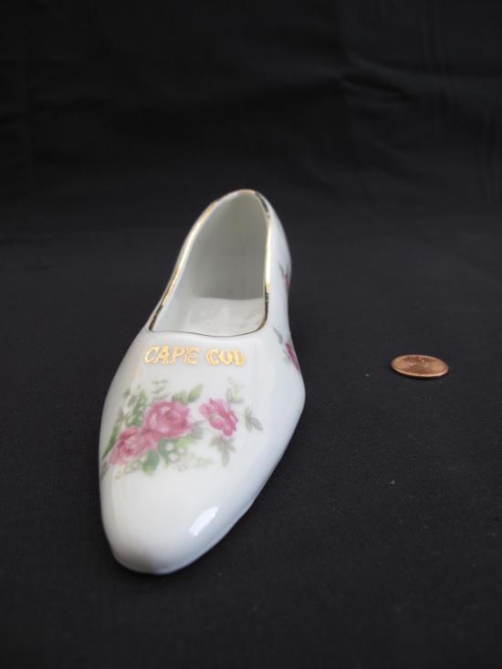 Cape Cod porcelain shoe